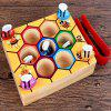 Puzzle Box Game Children Catch Bee Male Girl Cognitive Color Toy 1 -