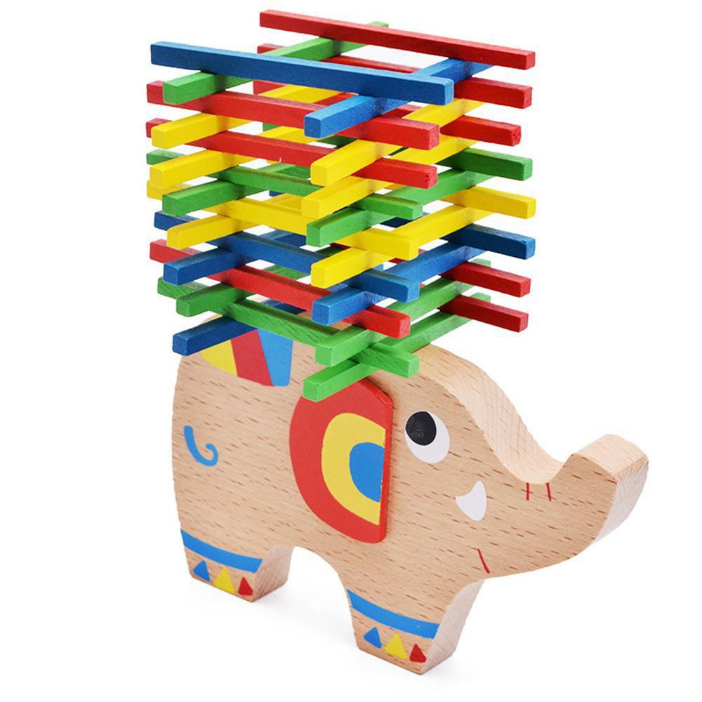 Discount Colourful Stick Balance Wooden Toy Children Start Puzzle Game 1