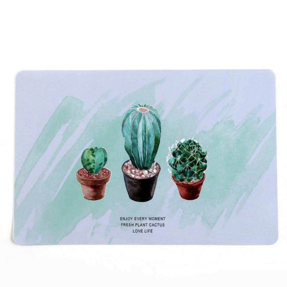Cheap Fashion Waterproof Oil Heat Resistant Table Mat Drink Coaster Tableware