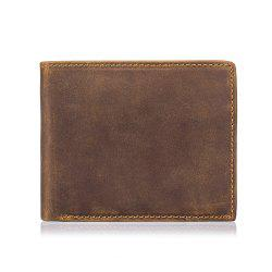 Men's New Leather Casual Retro  Function Wallet -