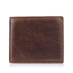 New Men's First Layer Cowhide Function Wallet -