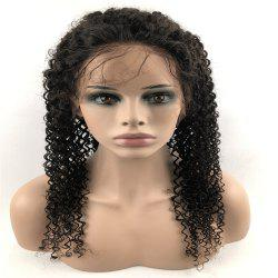Human Hair Wig Lace Front Wig Kinky with Baby Hair Natural Hairline for Women -
