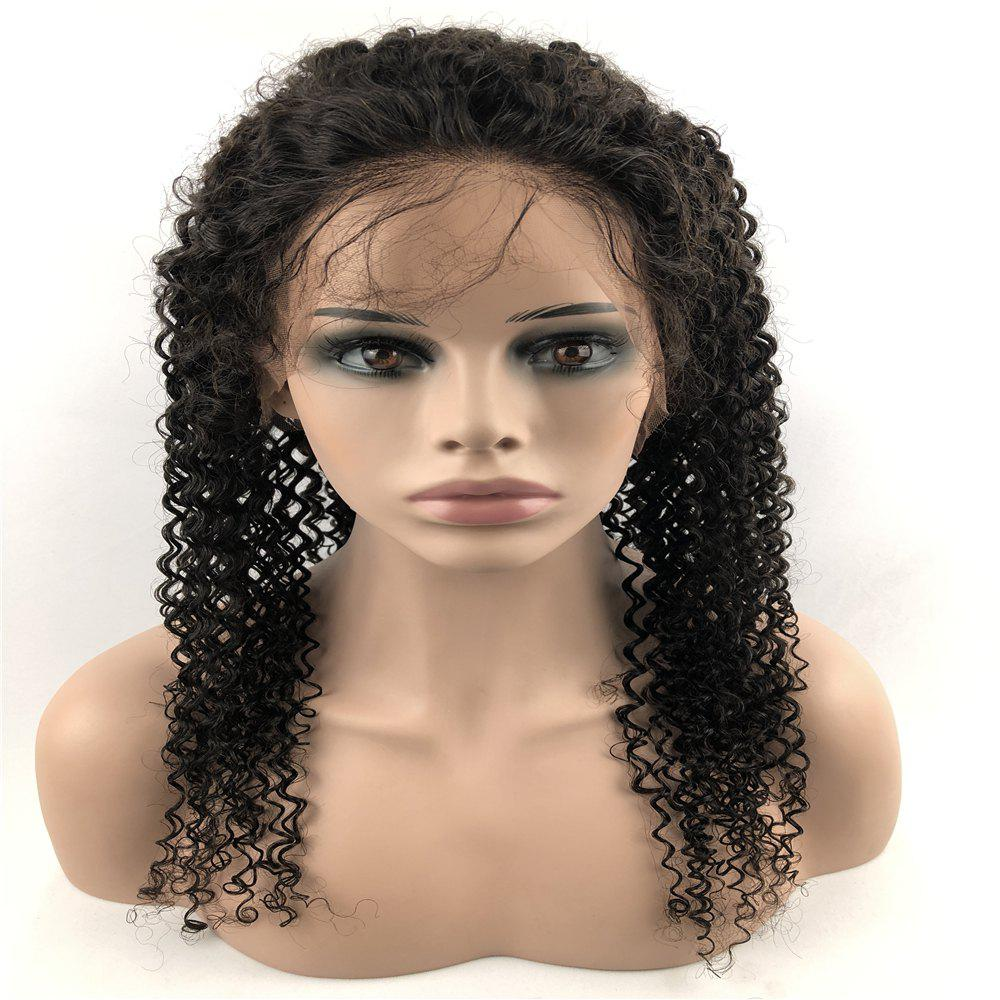 Store Human Hair Wig Lace Front Wig Kinky with Baby Hair Natural Hairline for Women