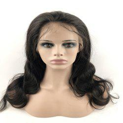 Human Hair Wig Full Lace Wig Curly with Baby Hair Natural Hairline for Women -
