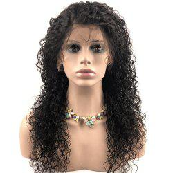 Human Lace Front Hair Wigs Natural Color nature curly Brazilian -