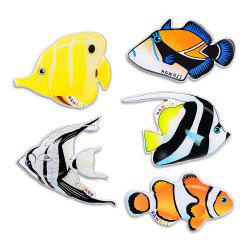 Tropical Fish Series Silicone Fridge Magnet Sticker Home Decoration -