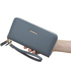 Women'S Wallet Long Zipper Wallet New Clover Large Capacity Women'S Clutch -