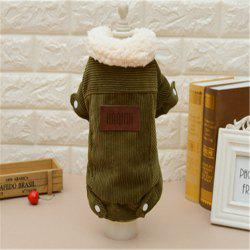 Lamb Velvet Jacket Cat and Dog Clothes Quality Pet Clothes -