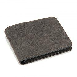 Men Short Wallets PU Leather Purses Baellerry -