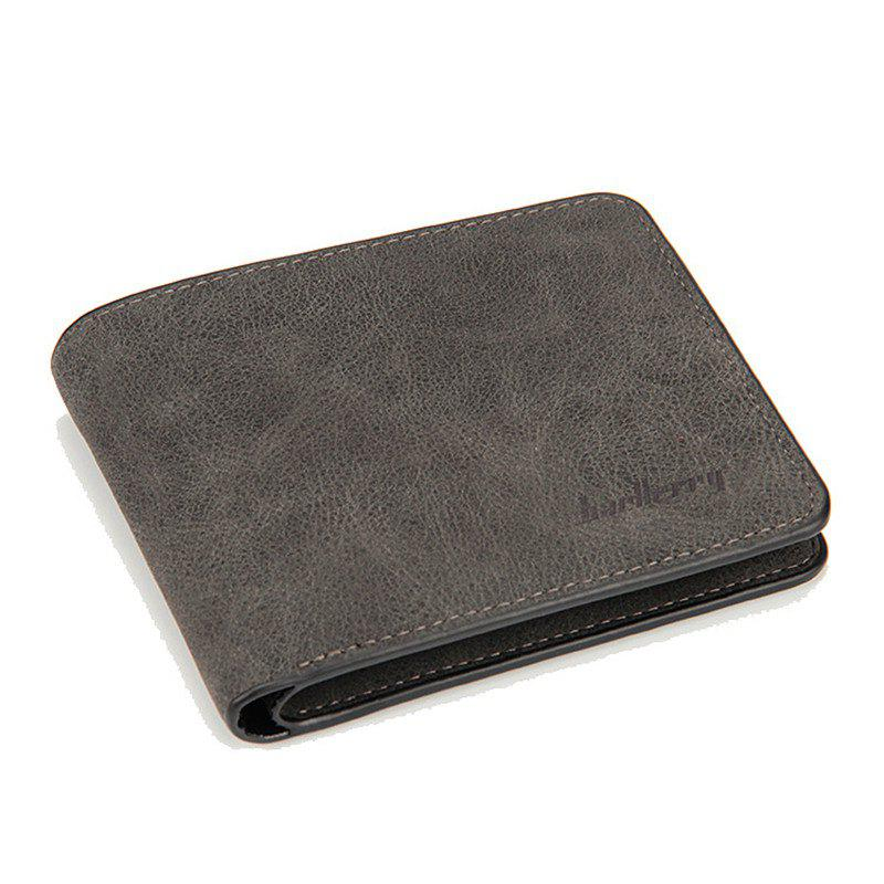 New Men Short Wallets PU Leather Purses Baellerry