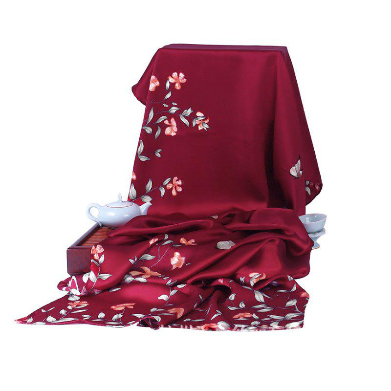 Latest Autumn And Winter High-grade Silk Scarf Scarf Shawl Long Scarf