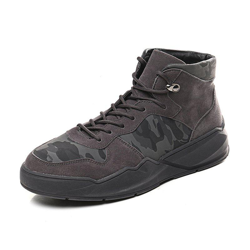 Cheap Men'S Fashion Camouflage Casual Board Shoes