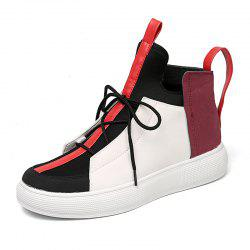 Men'S Leisure Personality High Upper Board Shoes -