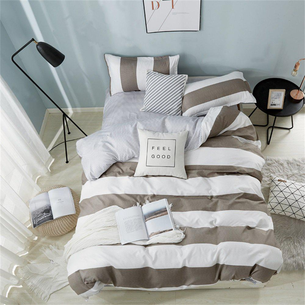 Latest OMONNES Simple and Simple Cotton Quilt Set for Household Aloe Vera