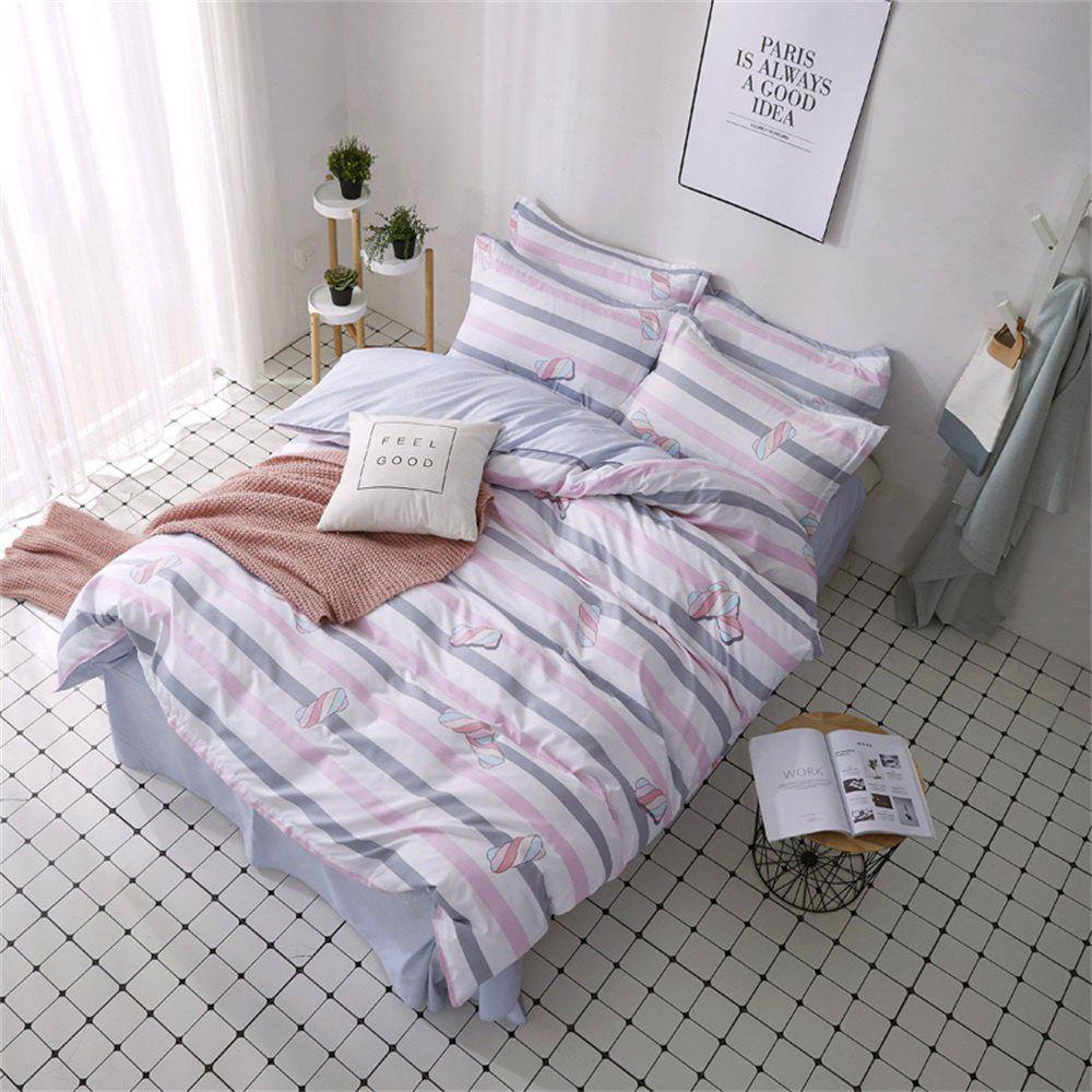 Store OMONNES Household Aloe Quilt Set Single Cotton Candy