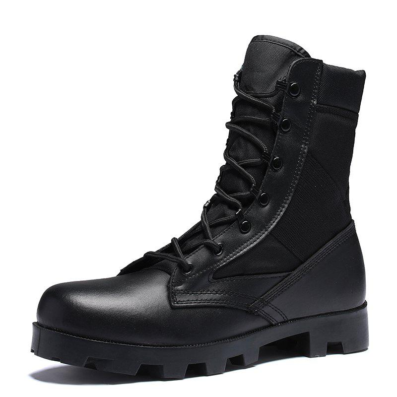 Online Men Fashion Breathable Soft and Comfortable Shoes Lace Up