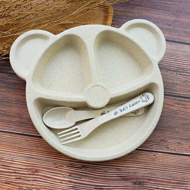 Store Creative Household Tableware Baby Compartment Plate Breakfast Plate