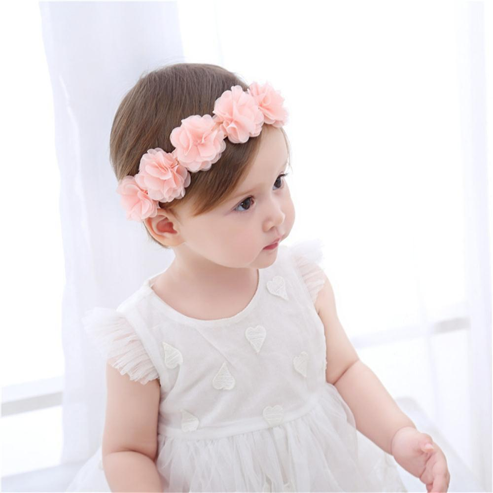 Fancy Baby's Hairband Fashion Flower Headdress Photo Prop