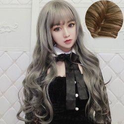 Stylish Long Curly Air Bangs for Women -