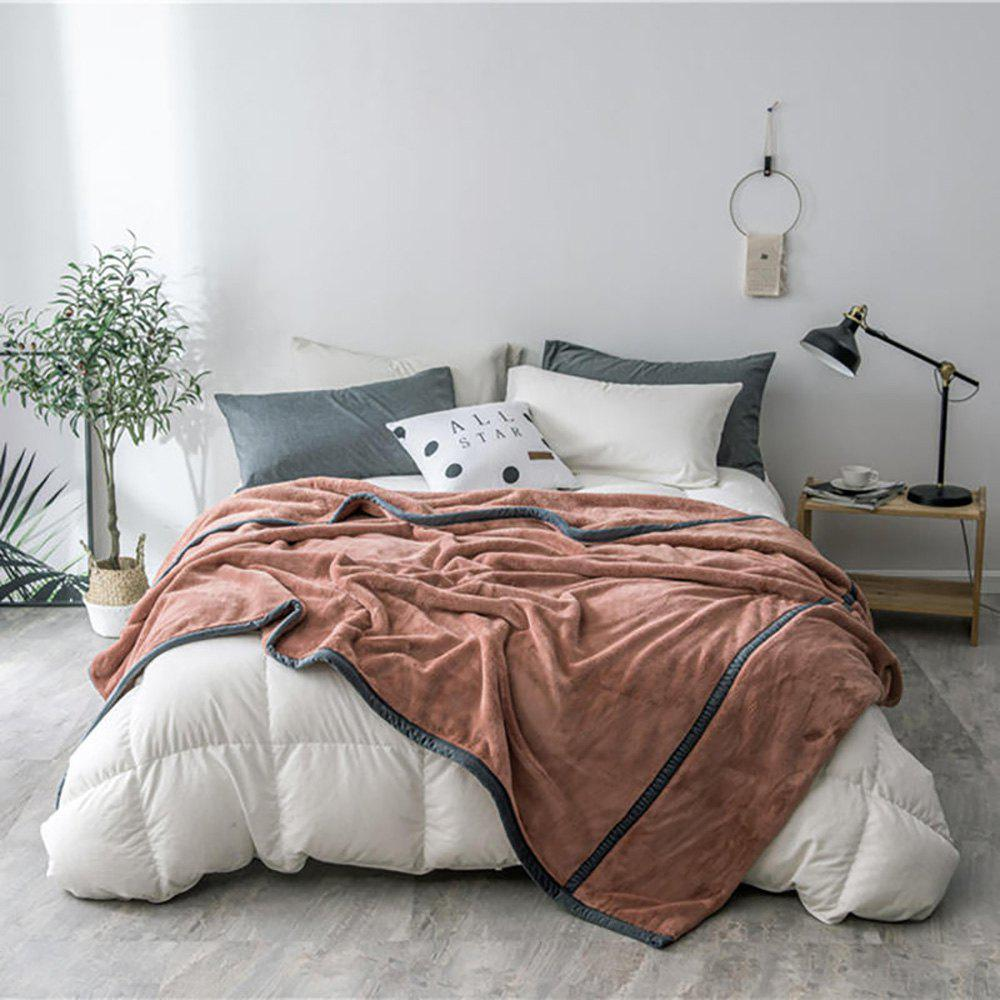 Fancy Luxury High Quality Flannel Blanket Reactive Printing