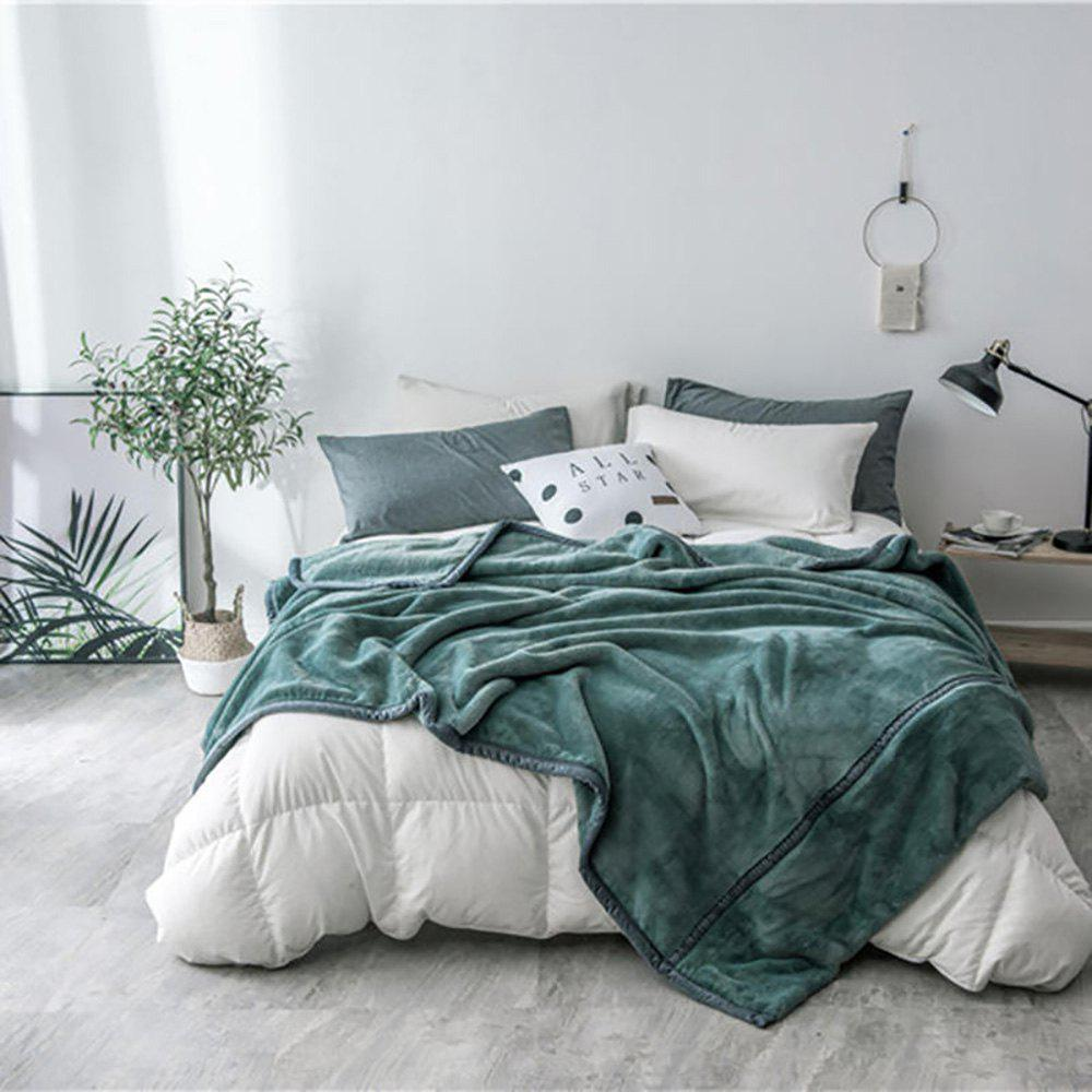 Unique Luxury High Quality Flannel Blanket Reactive Printing