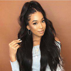 Curly Hair Wigs Female Black Long Hair in The Realistic Points African Black Wig -