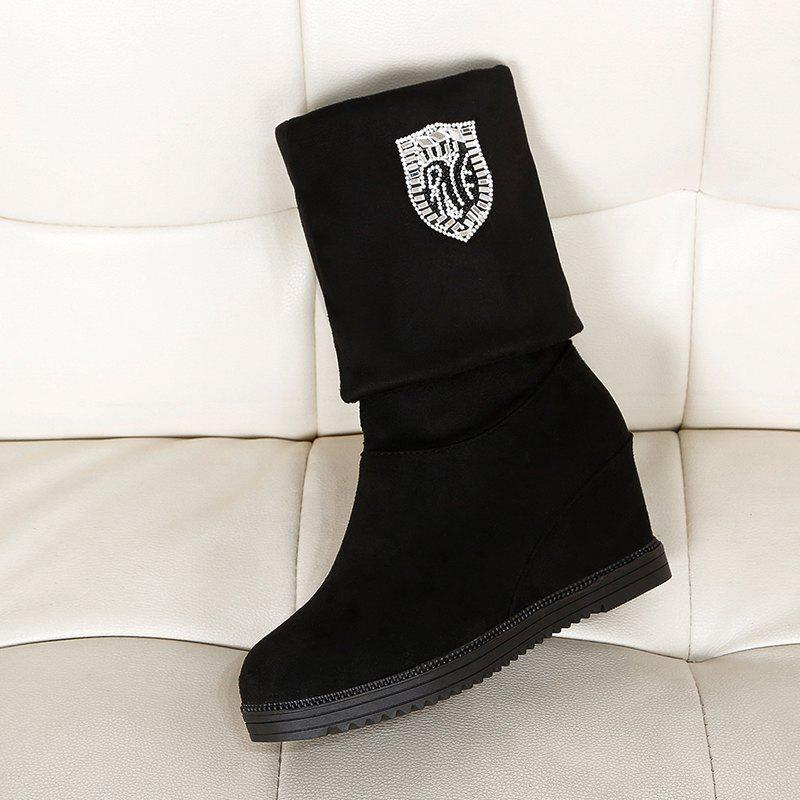 Fashion Womens Shoes Boots Autumn Boots