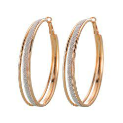 Vintage Gold Multi-Layer Hoop Earrings Are Great for Party Jewelry -