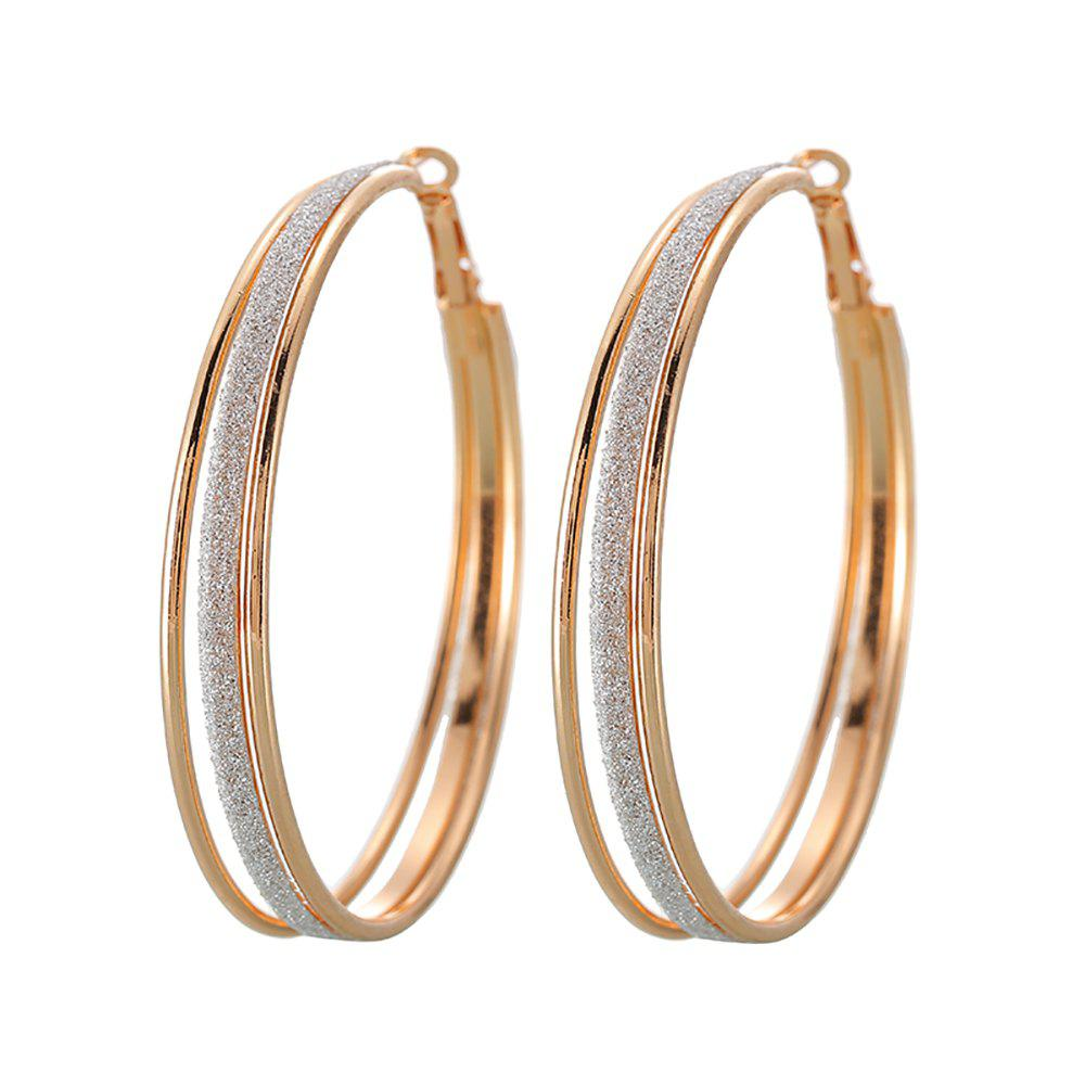 Outfits Vintage Gold Multi-Layer Hoop Earrings Are Great for Party Jewelry