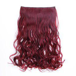 Traceless Hair Hair Piece Curl Curtain Fibre chimique - Multi-F 1 ensemble
