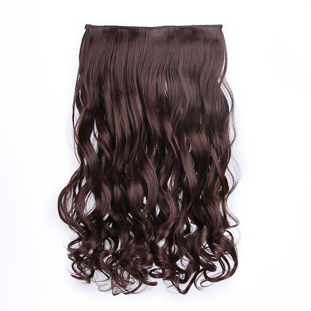 Trendy Traceless Hair Piece Chemical Fiber Curtain Curl Piece