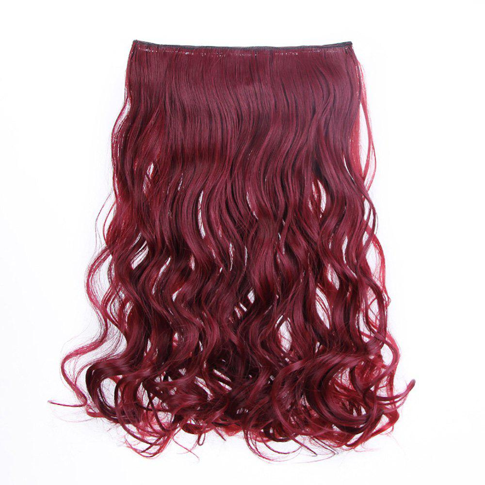 Traceless Hair Hair Piece Curl Curtain Fibre chimique Multi-F 1 ensemble