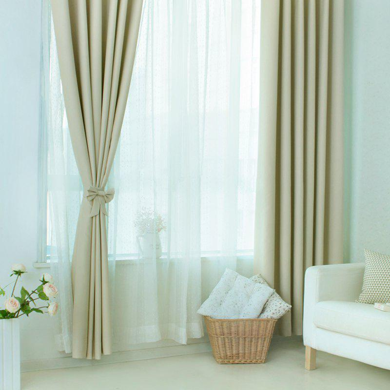 Latest Living-Room and Bed Room Pure Color Curtain from Jinsehuanian 1PCS