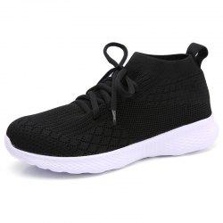 Winter Women Running Shoes Socks Sneakers For Woman Sport Shoes Breathable Mesh -