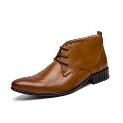 New Fashion Oxford Business Men Shoes Genuine Leather High Quality Soft Casual -