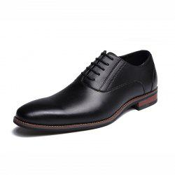 nouvelle mode Sapato Masculino Hommes Casual Chaussures Hommes Cuir Oxford Lace Up -