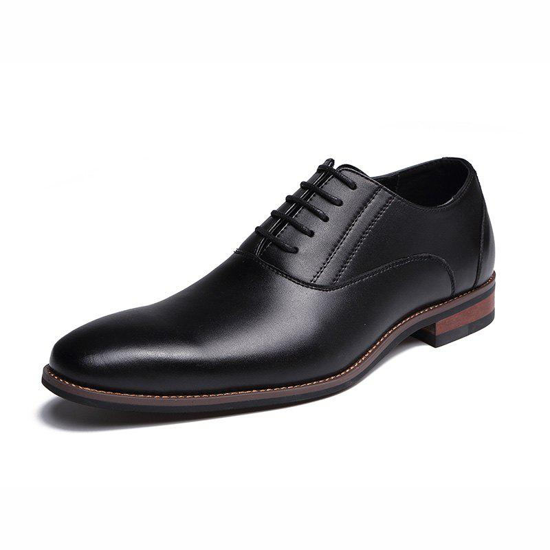 Store new Fashion Sapato Masculino Mens Casual Shoes Men Leather Oxford Lace Up