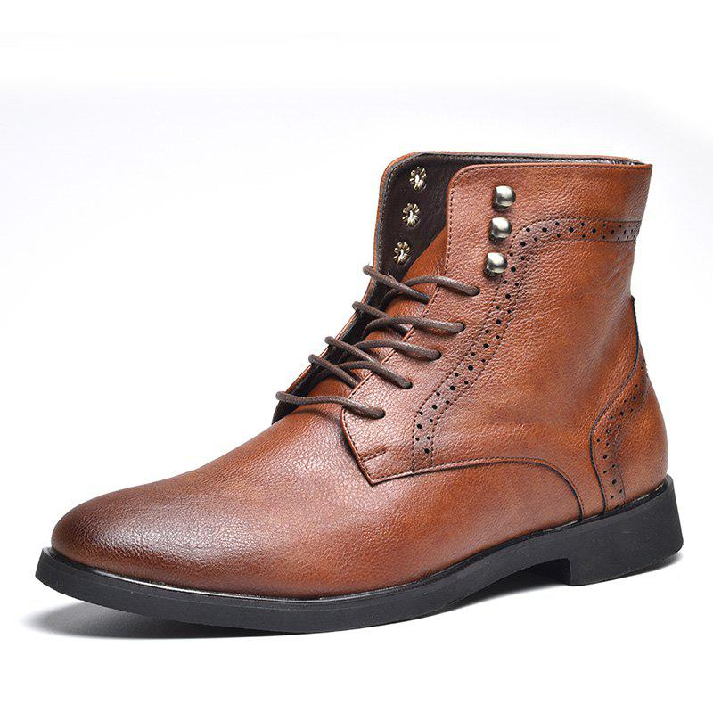 Store COSIDRAM Men Wear Autumn and Winter Ankle Boots