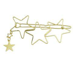 Gold Star Hair Accessories -