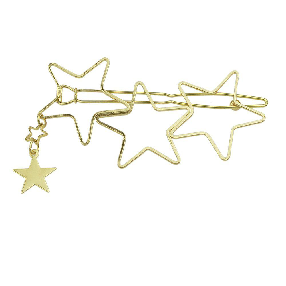 Store Gold Star Hair Accessories