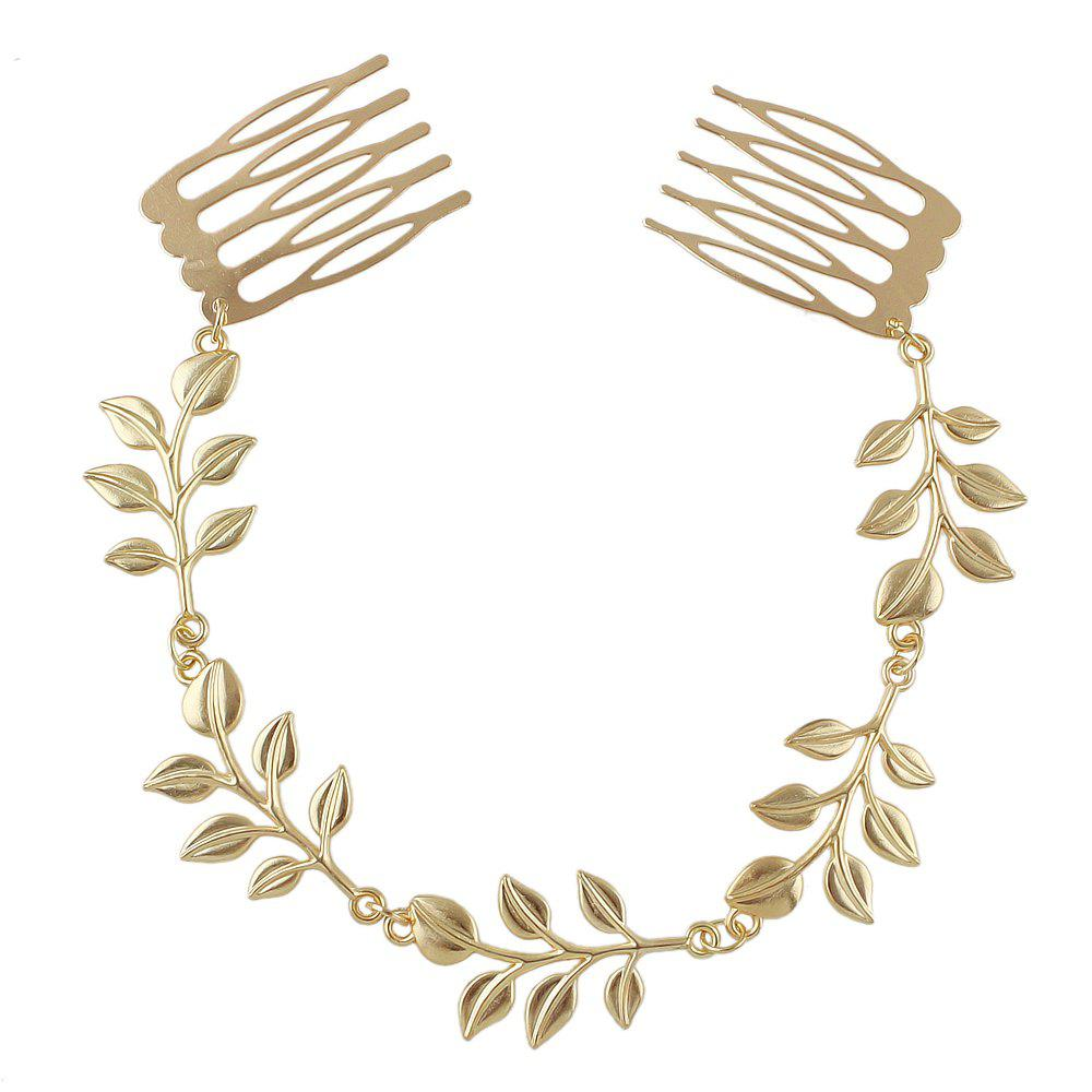 Outfit Leaf Design Hair Combs Hairwear