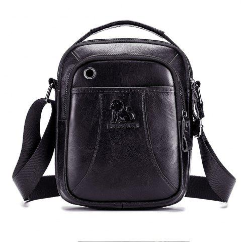 1ca7598b6e5d LAOSHIZI First Layer Cowhide Fashion Men s Shoulder Messenger Bag