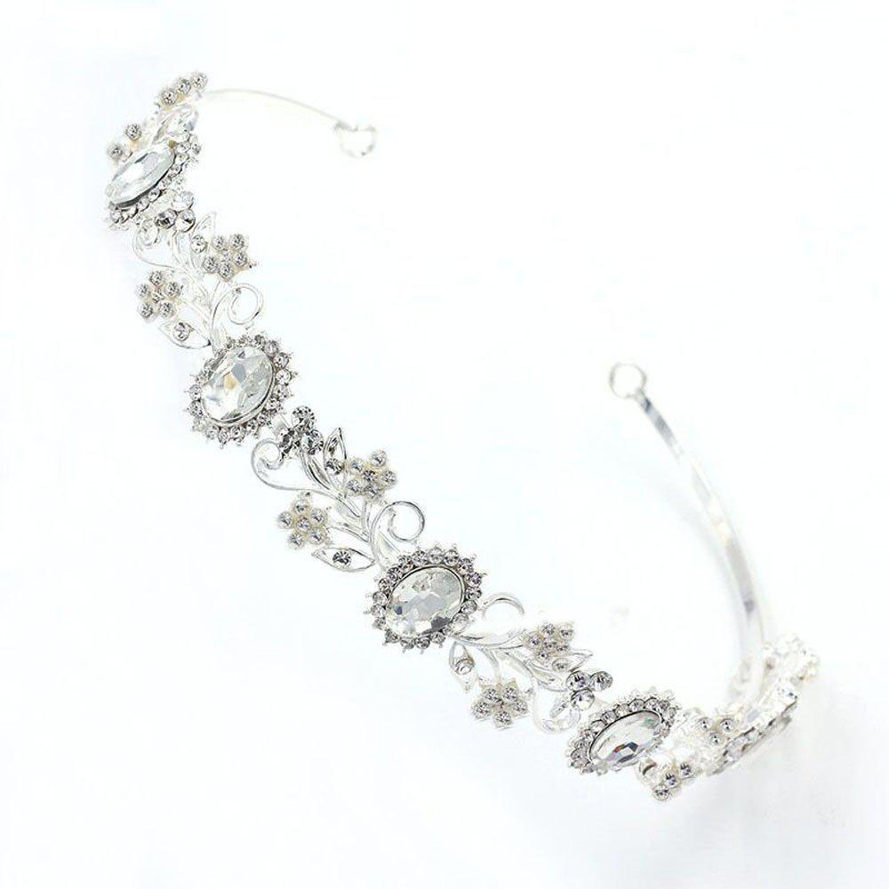 Shop New Fashion Small Flower Hair Hoop Ornaments Decorate