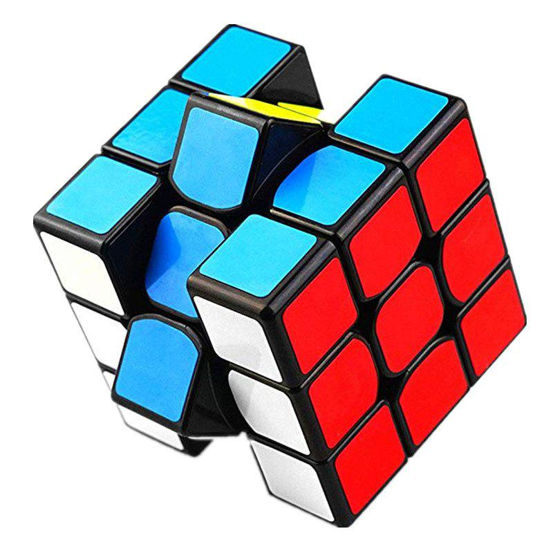Fashion Classic Colorful Three Layers Competition Speed Cube Puzzle Toy