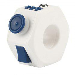 Relieves Stress and Anxiety Ring Dice Fingers Toy -