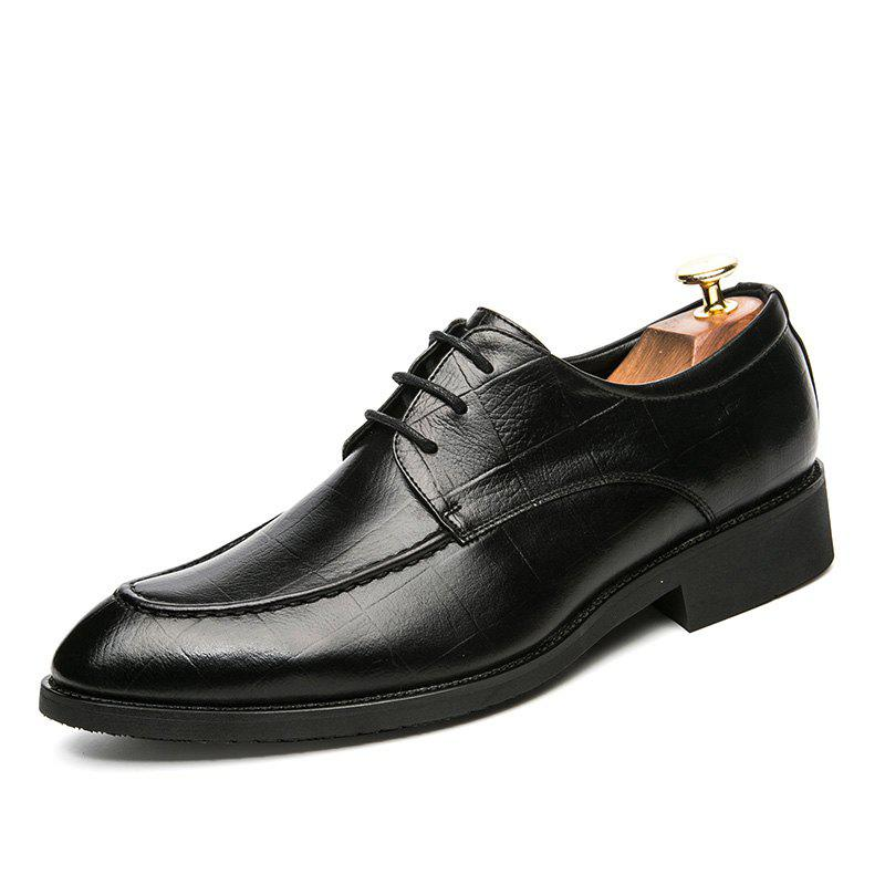 Fancy Fashion Leather Shoes with Tie