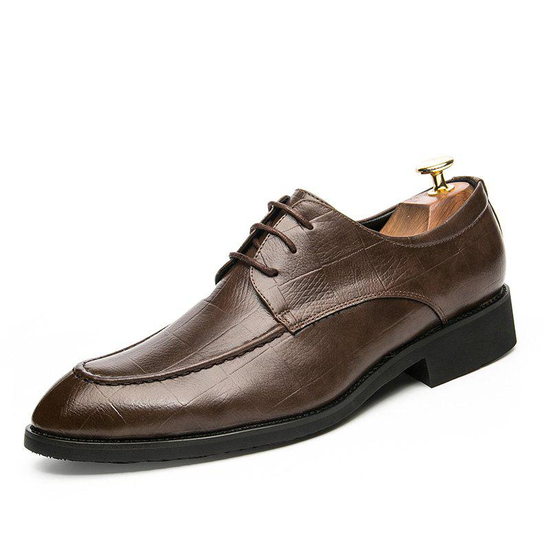 Fashion Fashion Leather Shoes with Tie