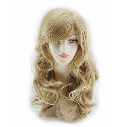 European and American Wigs Long Curly Hair Linen Wig Set -