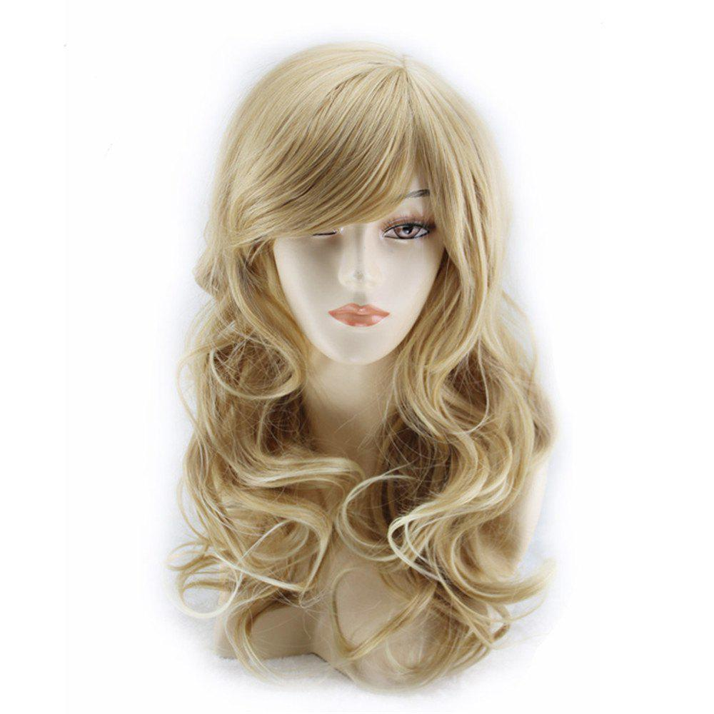 Store European and American Wigs Long Curly Hair Linen Wig Set