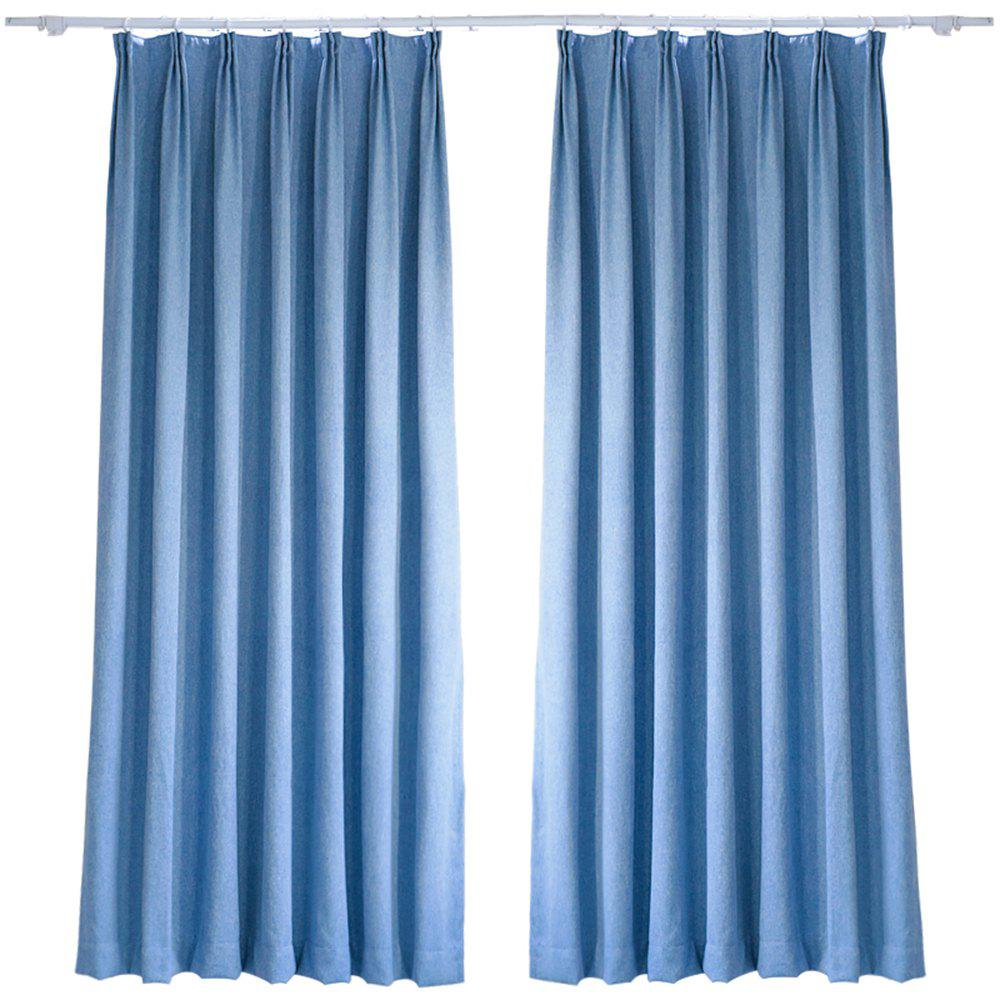 Hot Living-Room and Bed Room Pure Color Shade Curtain from Jinsehuanian 1PC